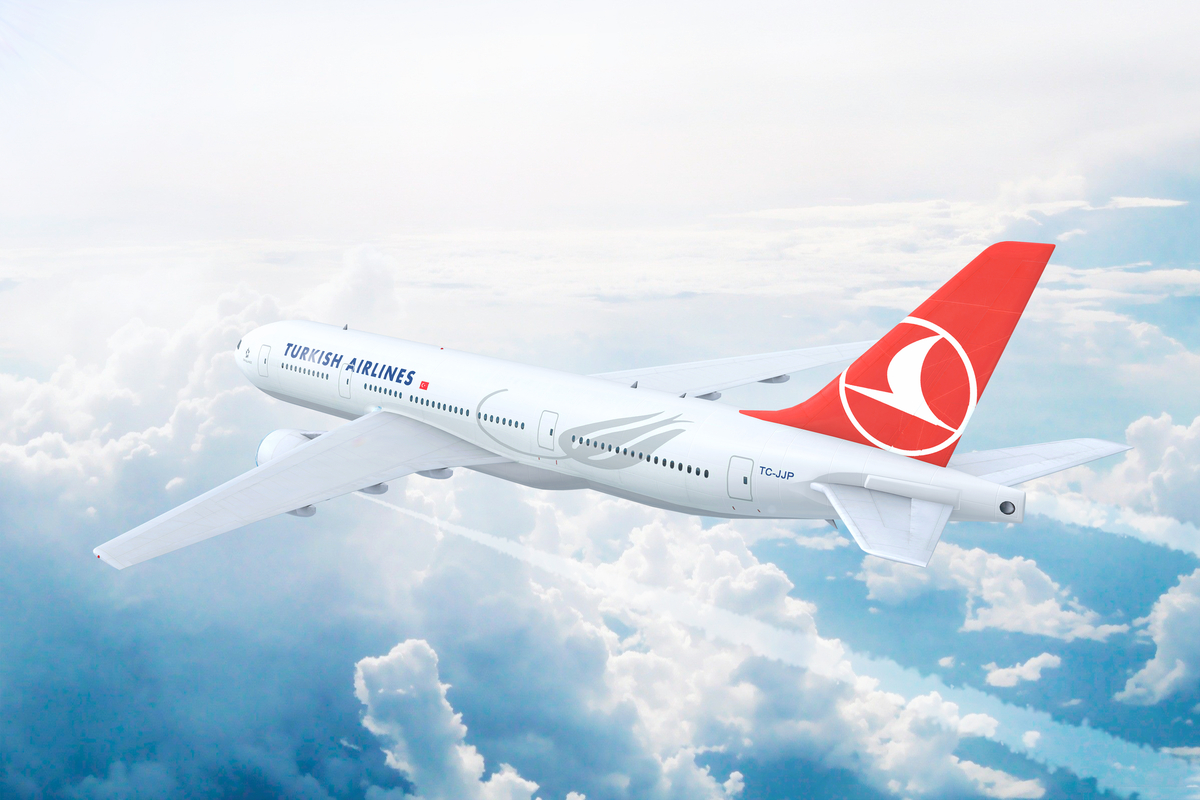 samolot Turkish Airlines
