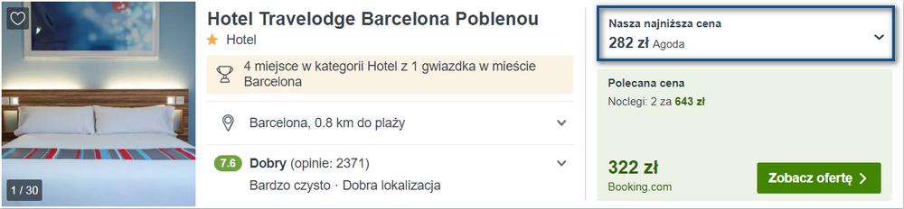 barcelona spanie