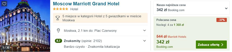 Hotel w Moskwie