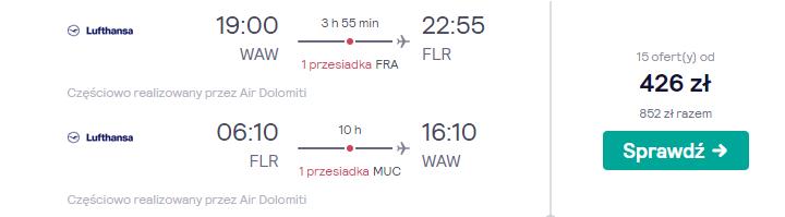 Loty do Florencji
