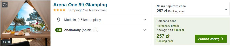 Glamping w Chorwacji