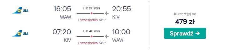 Loty do Kiszyniowa
