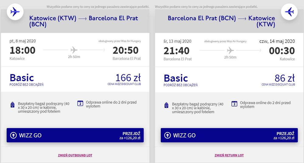 katowice barcelona