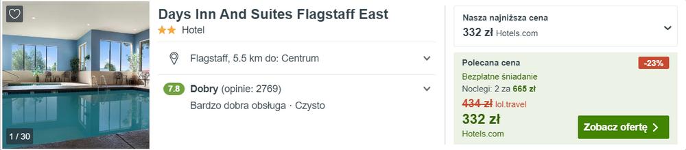 noclegi flagstaff