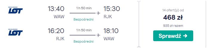 Loty do Chorwacji