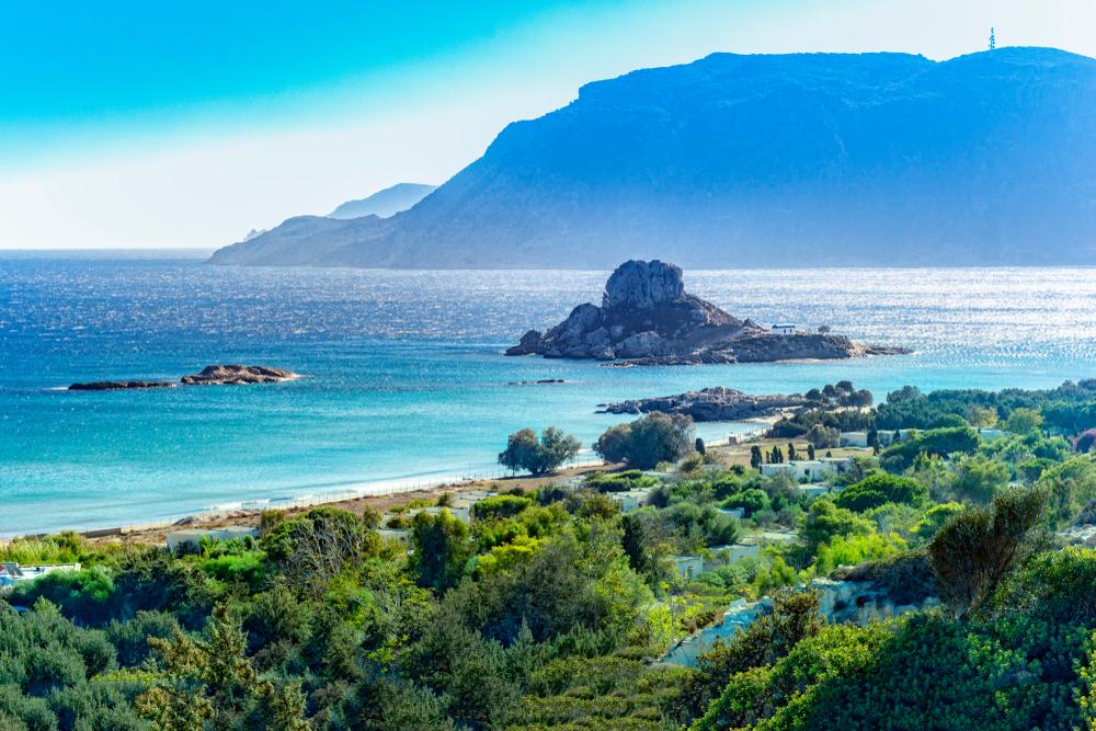 Panorama wybrzeża