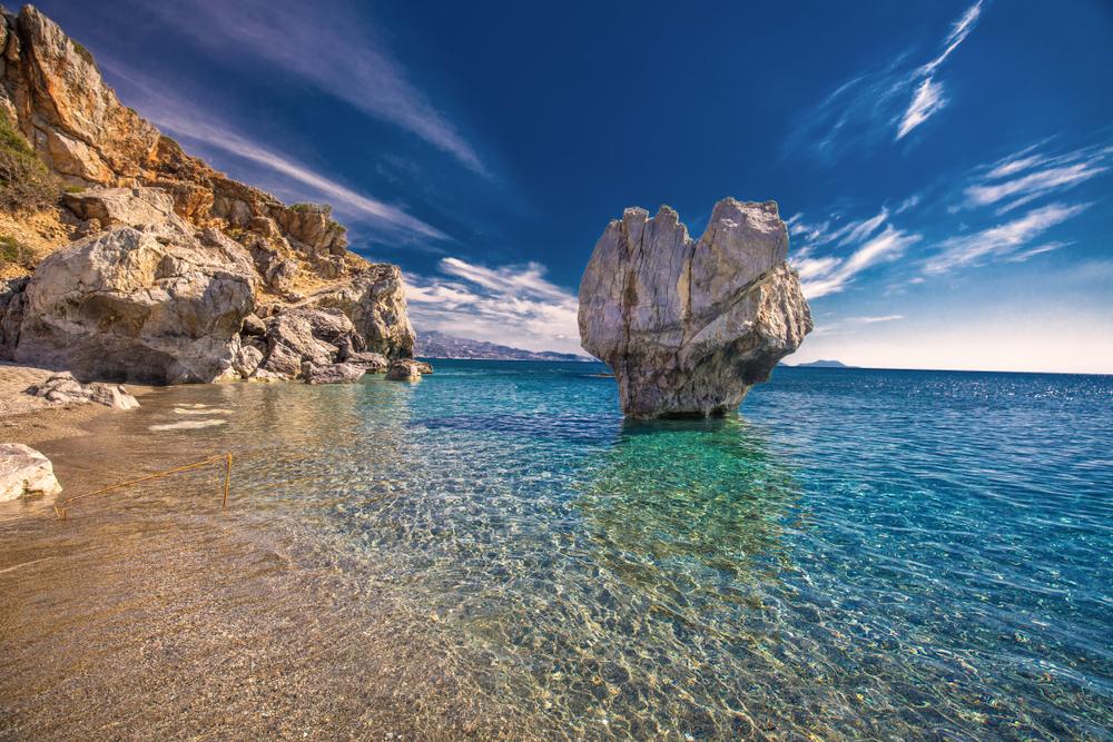 Plaża i skały
