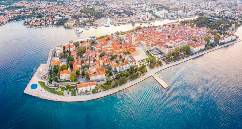 Panorama Zadaru
