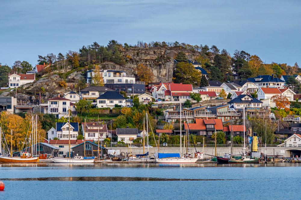 Wzgórze w Sandefjord