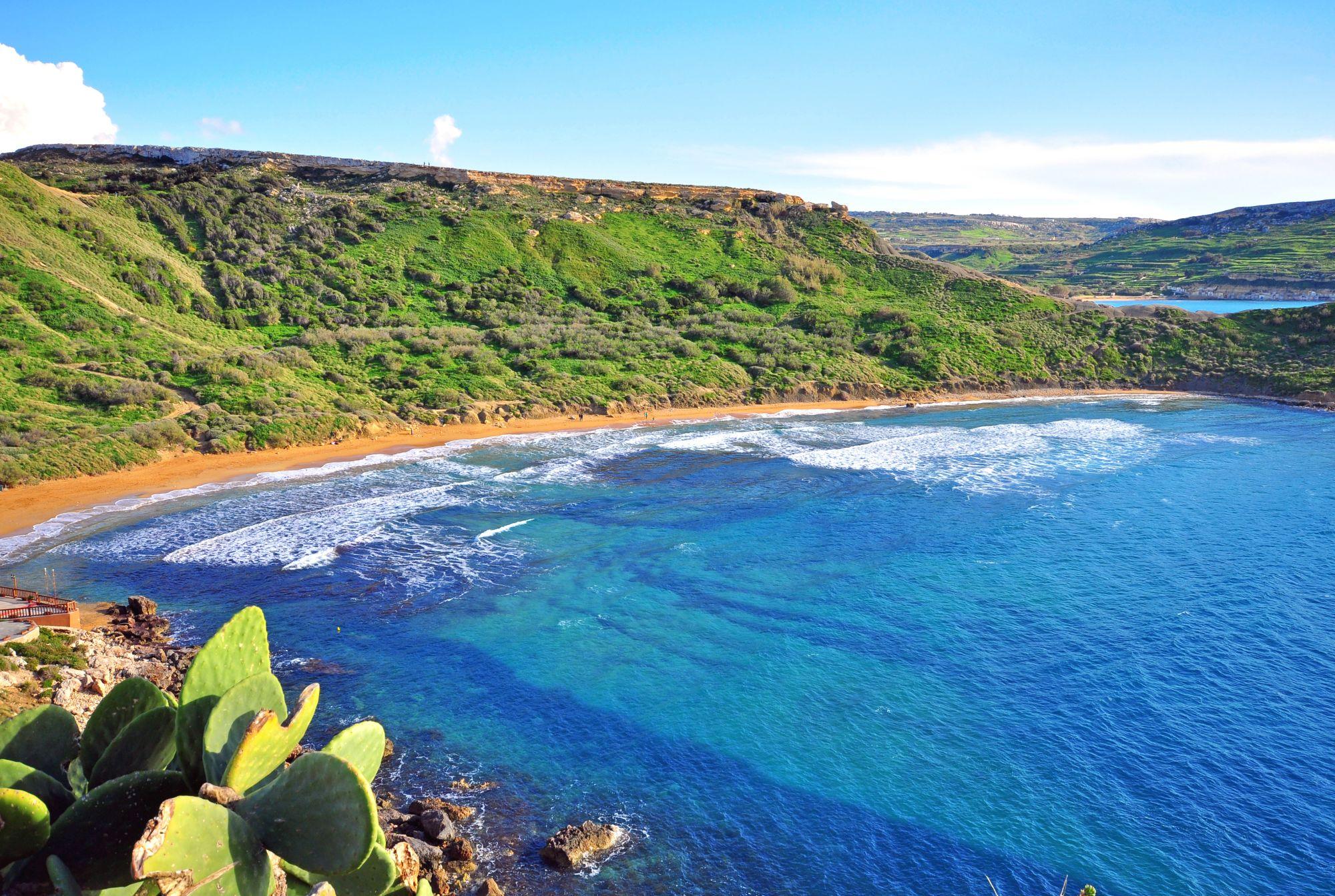 Plaża na Malcie