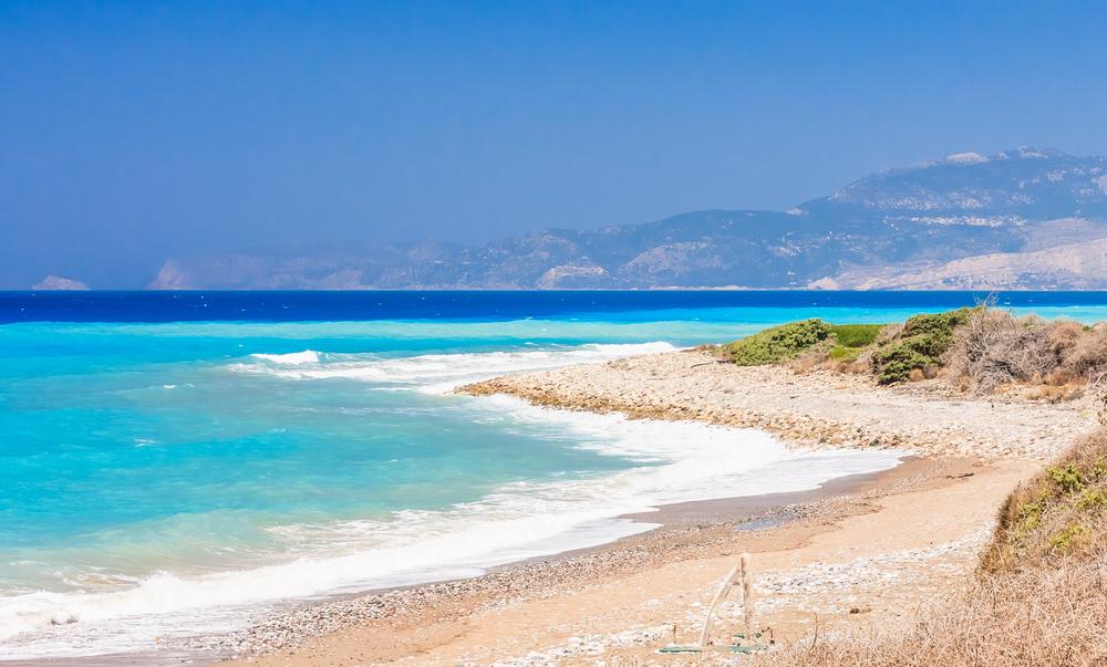 Plaża na Rodos
