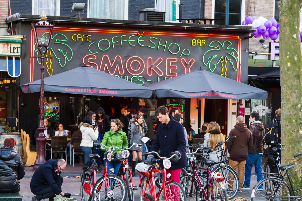 coffee shopy amsterdam