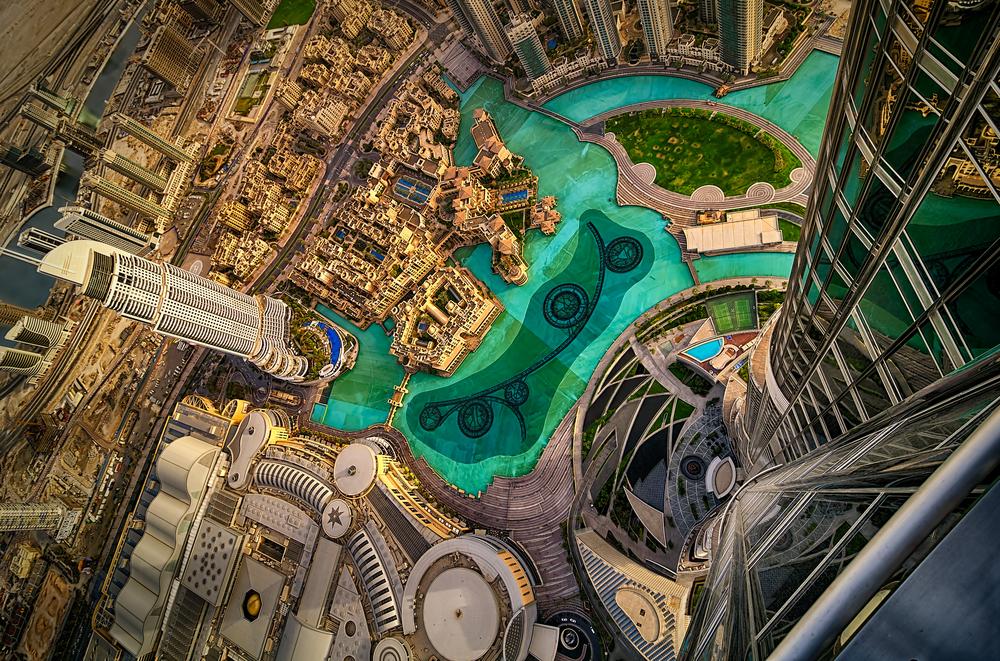 Dubaj z drona