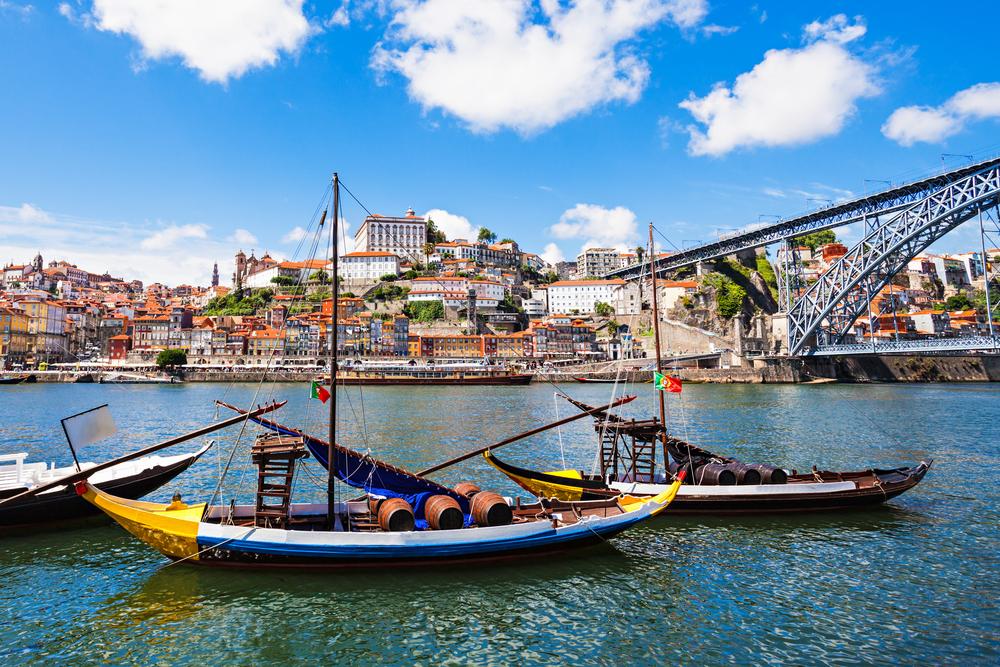 Rzeka w Porto