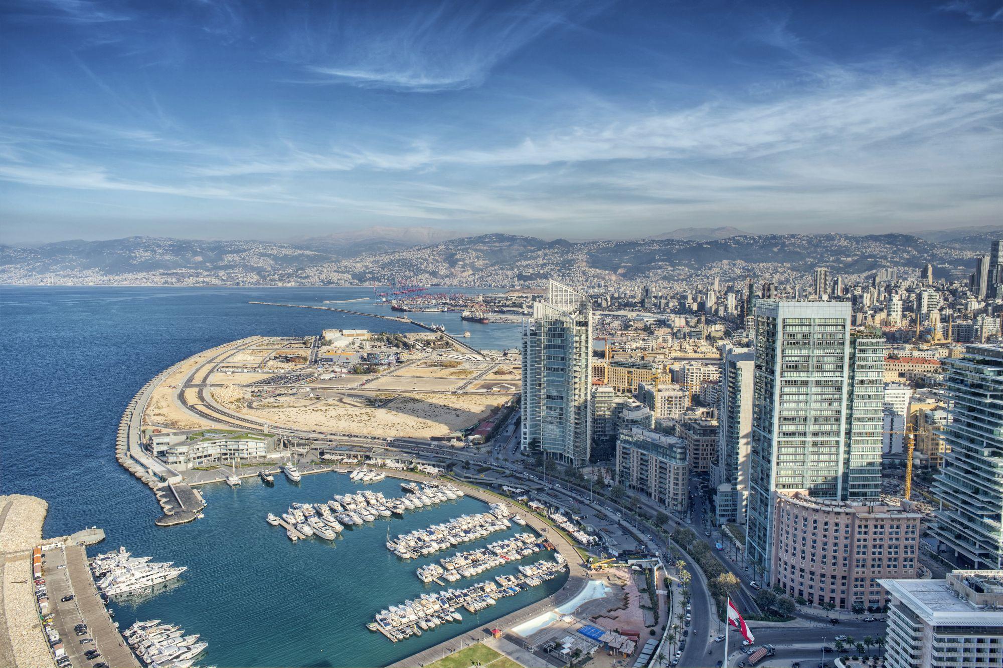 Loty do Libanu