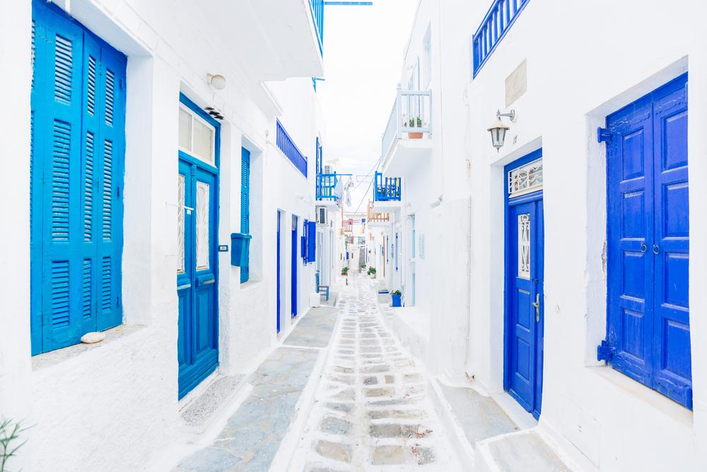 Ulica w Grecji