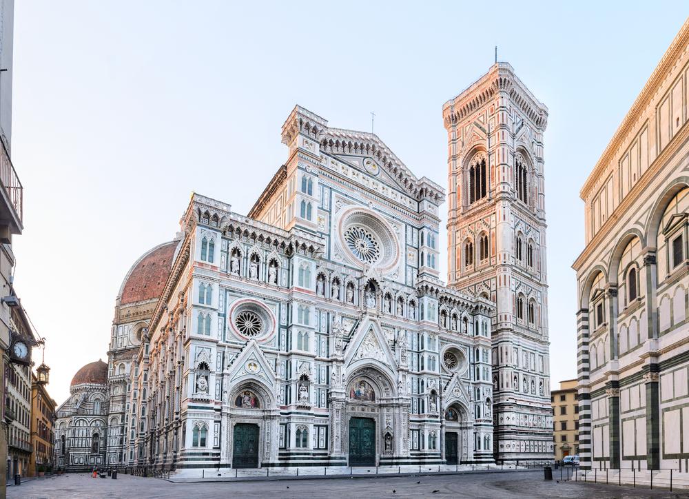 Widok katedry