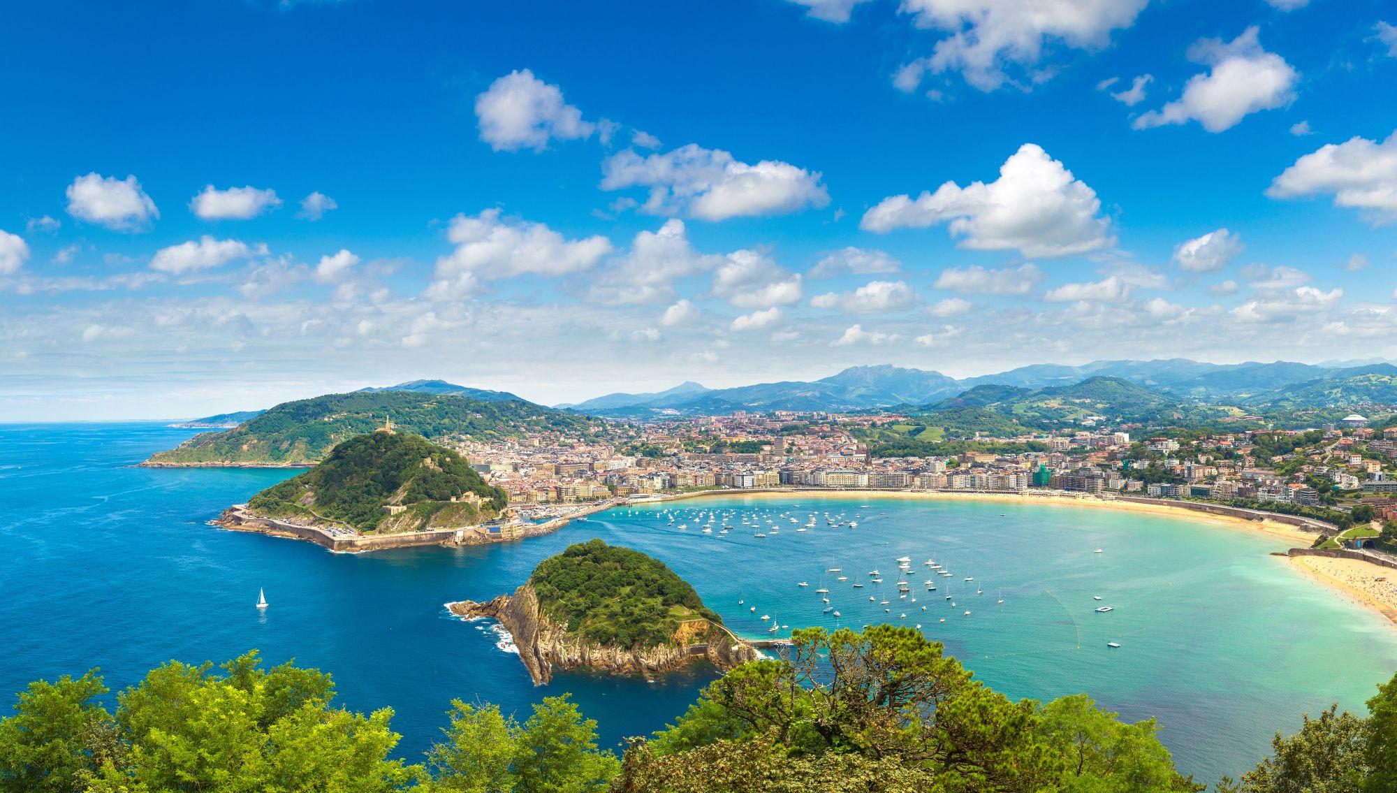 Panorama San Sebastian