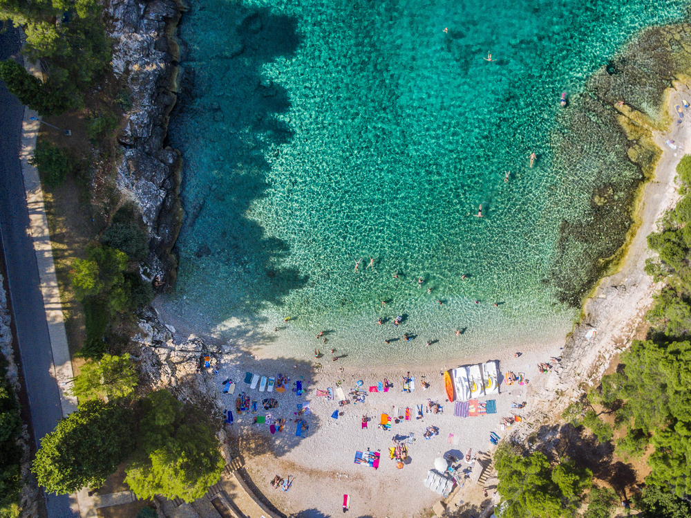 Plaża w Chorwacji