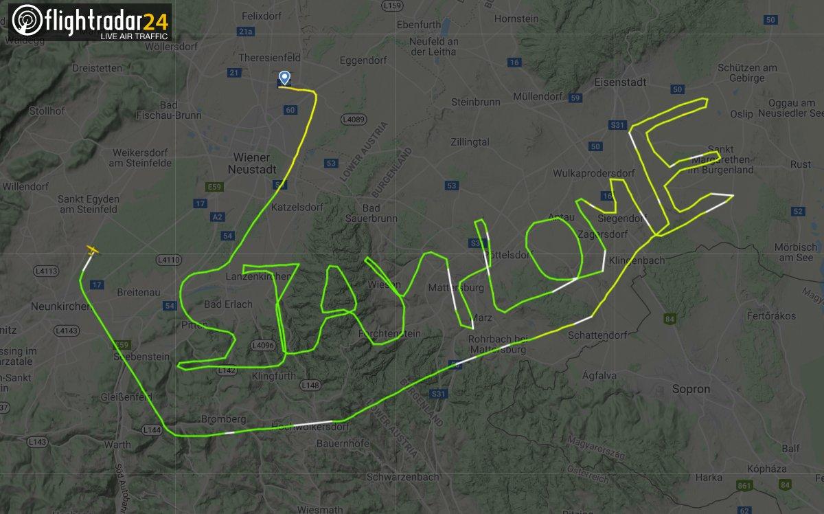 flightradar stay home