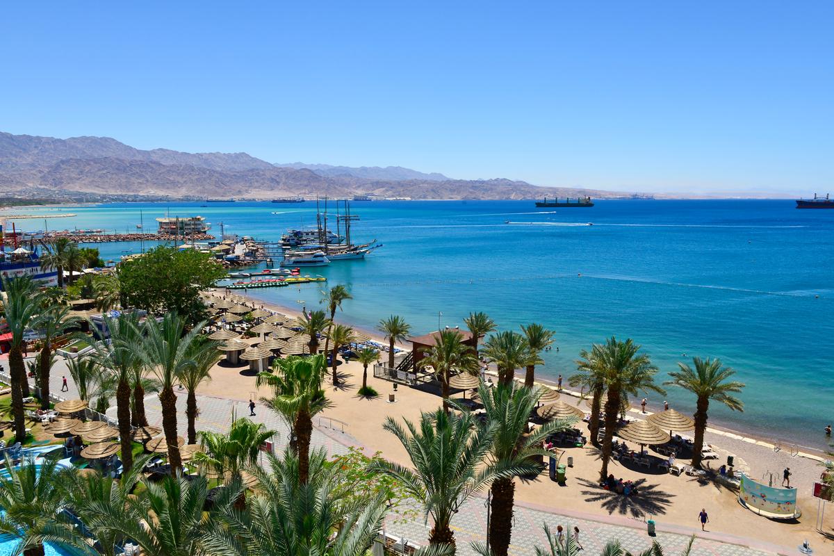 wybrzeże Ejlatu
