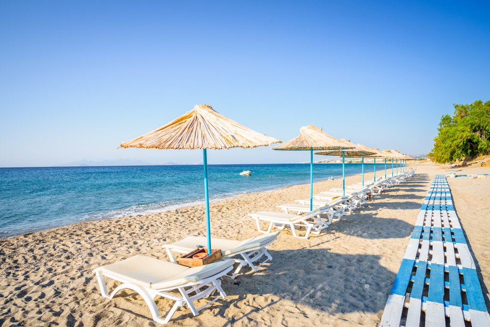 plaża na Kos