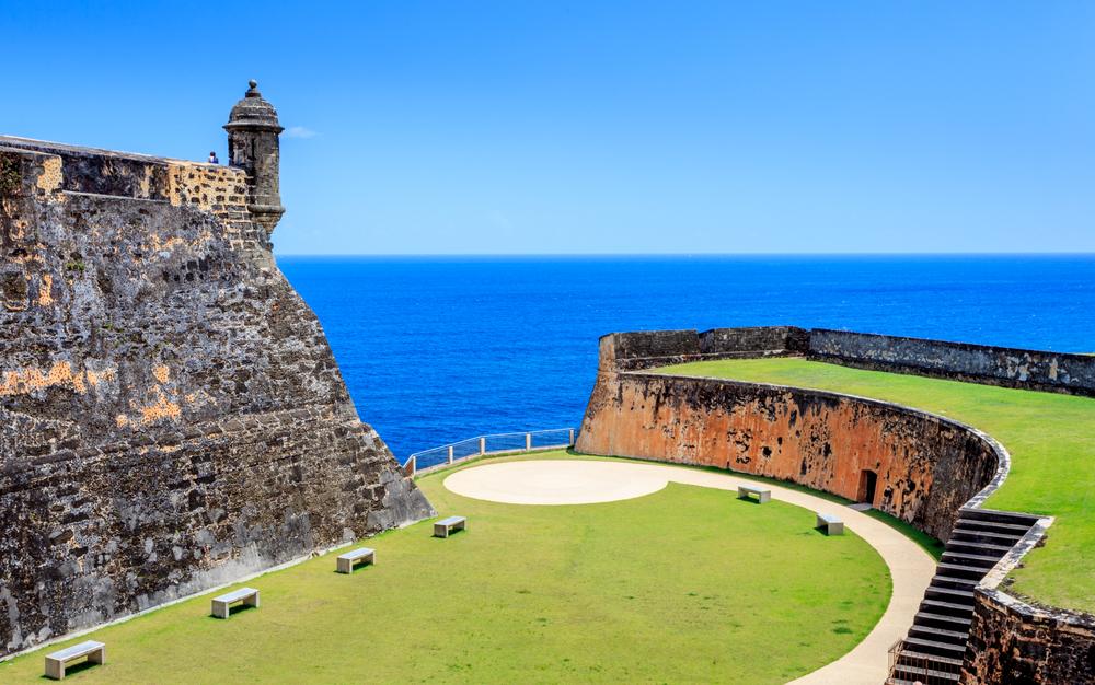 zamek w Portoryko