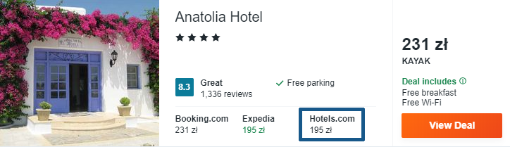 Hotel na Mykonos