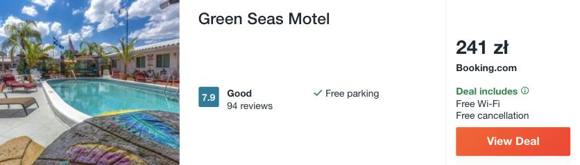 zarezerwuj hotel na florydzie