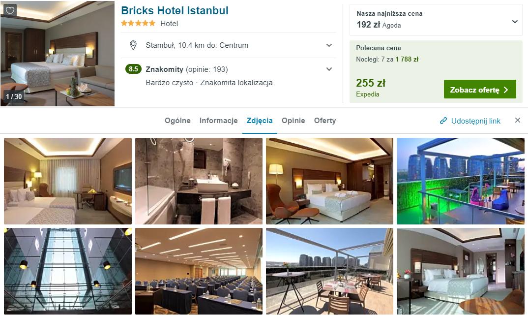 Hotel w Stambule