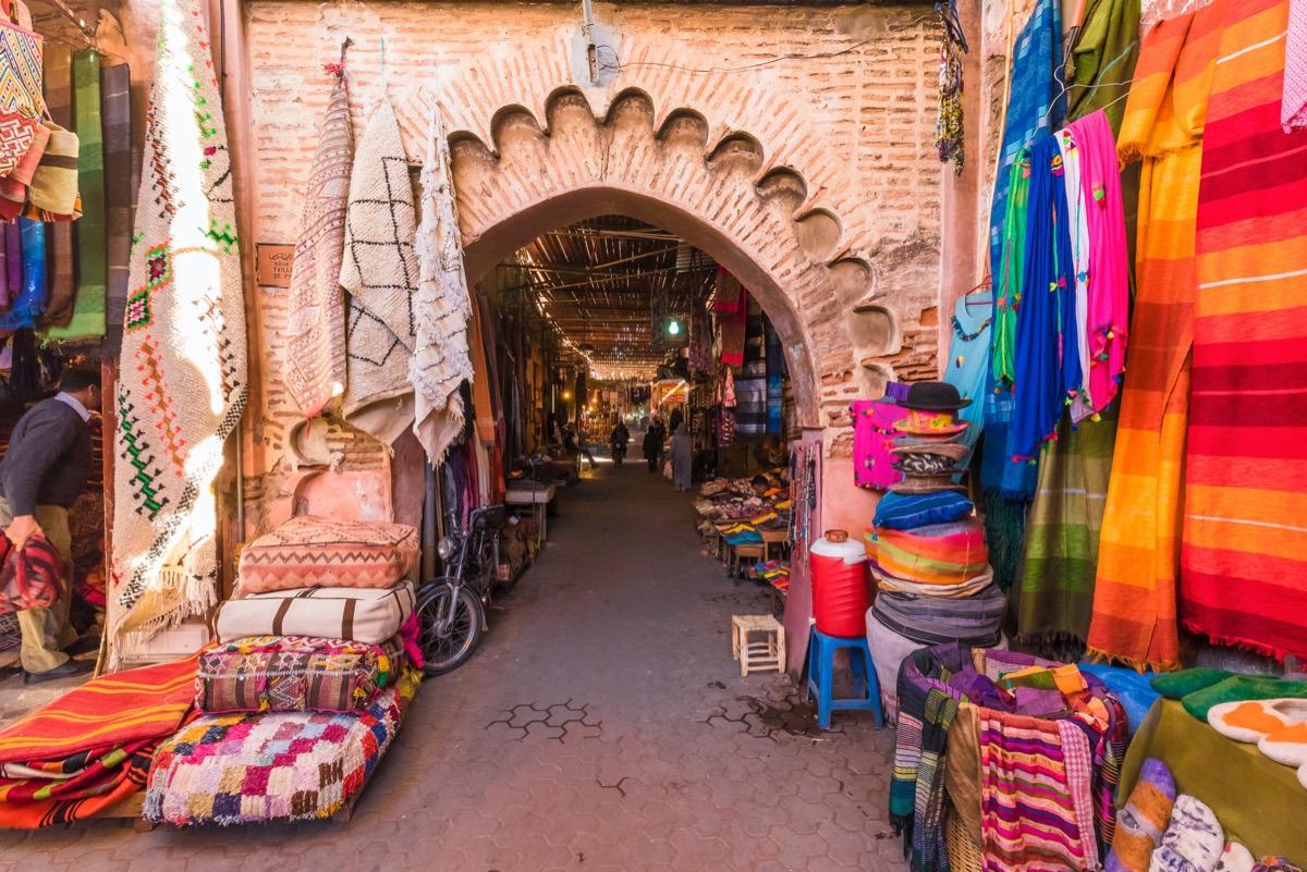 targ w marrakeszu