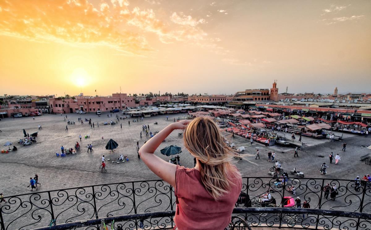 zachod w marrakeszu