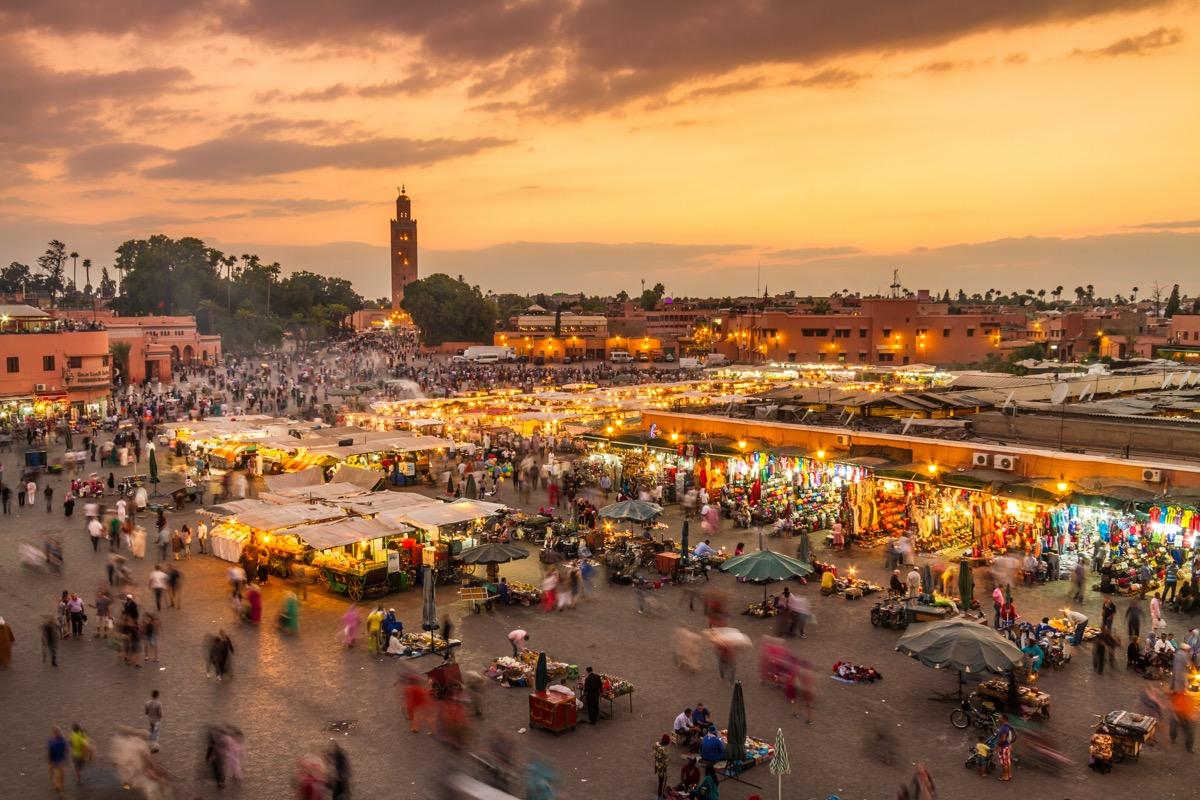 plac w marrakeszu