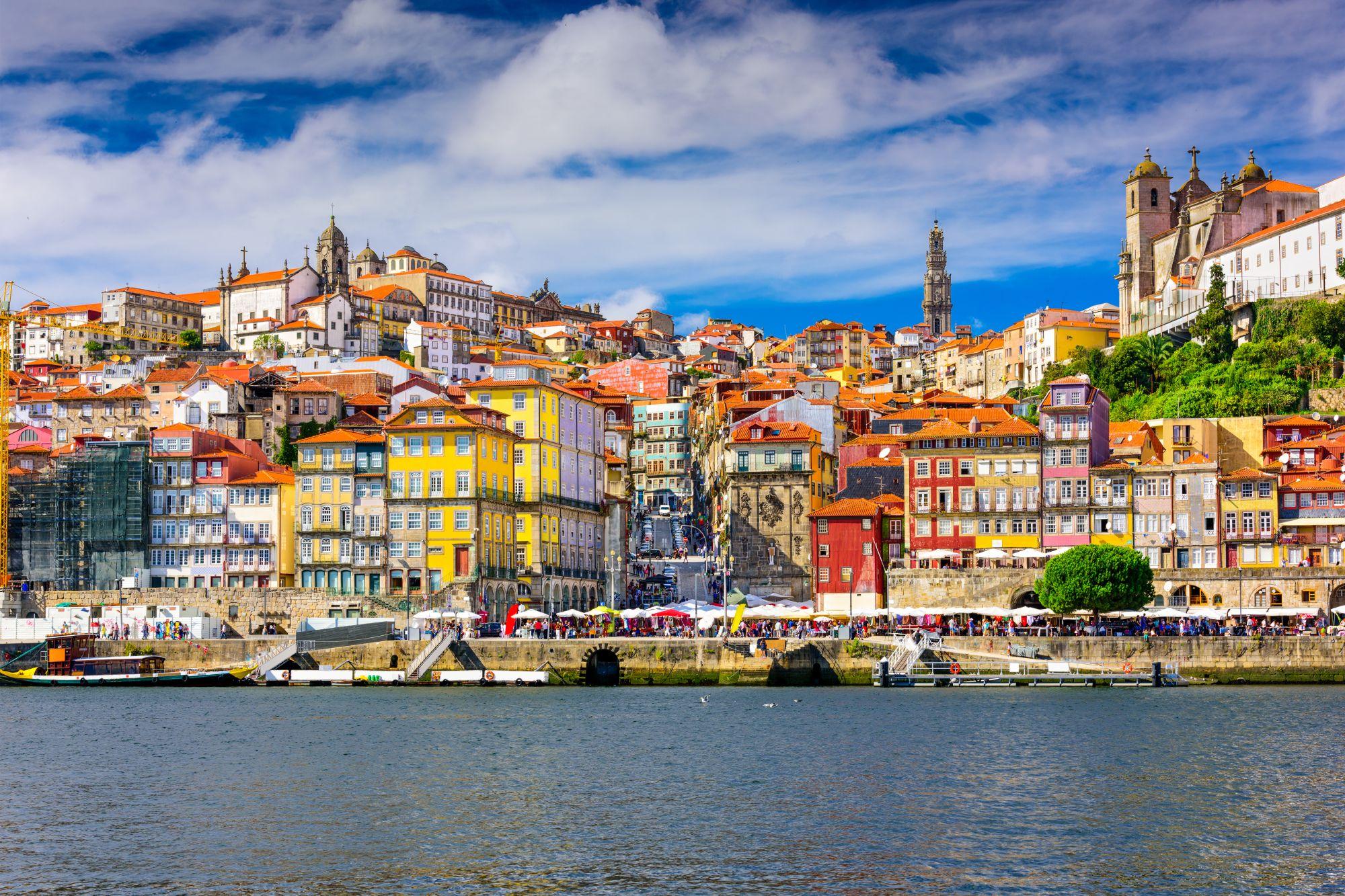 Kamienice w Porto