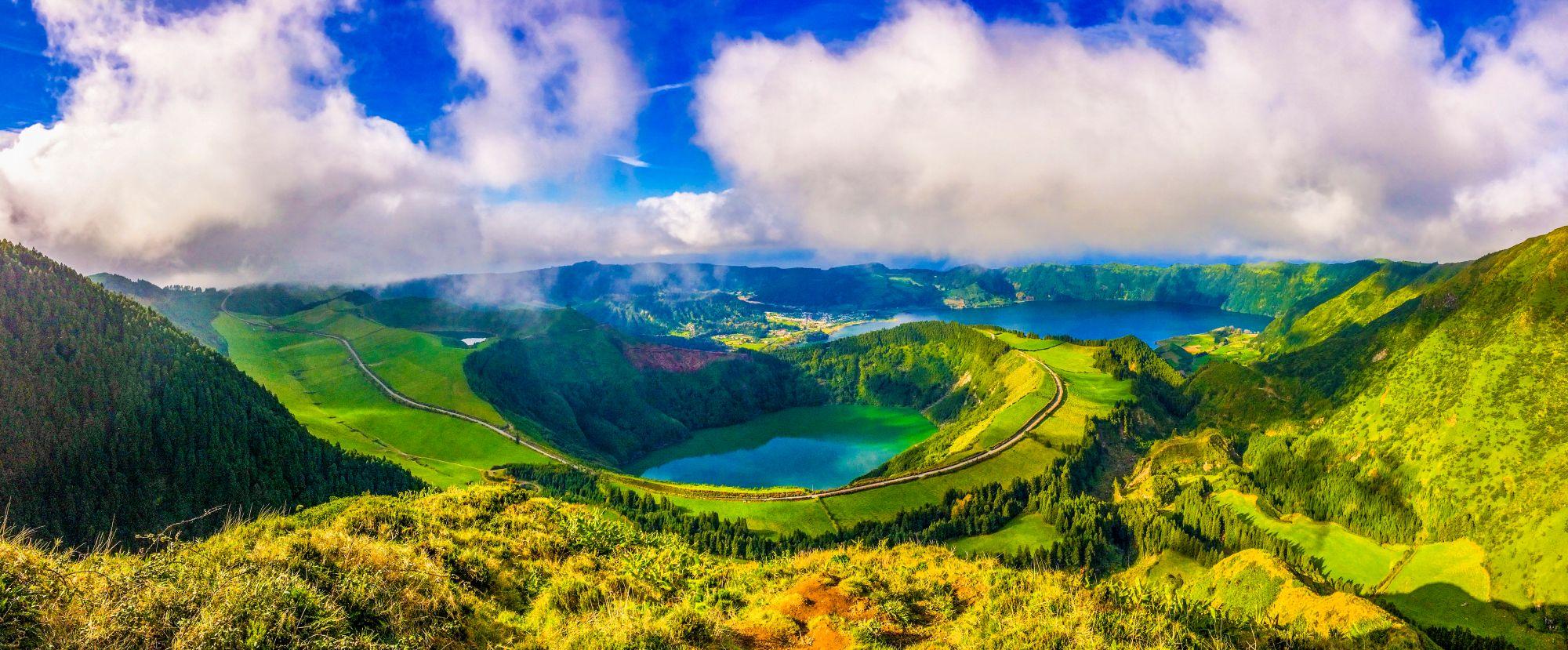 Jezioro na Azorach