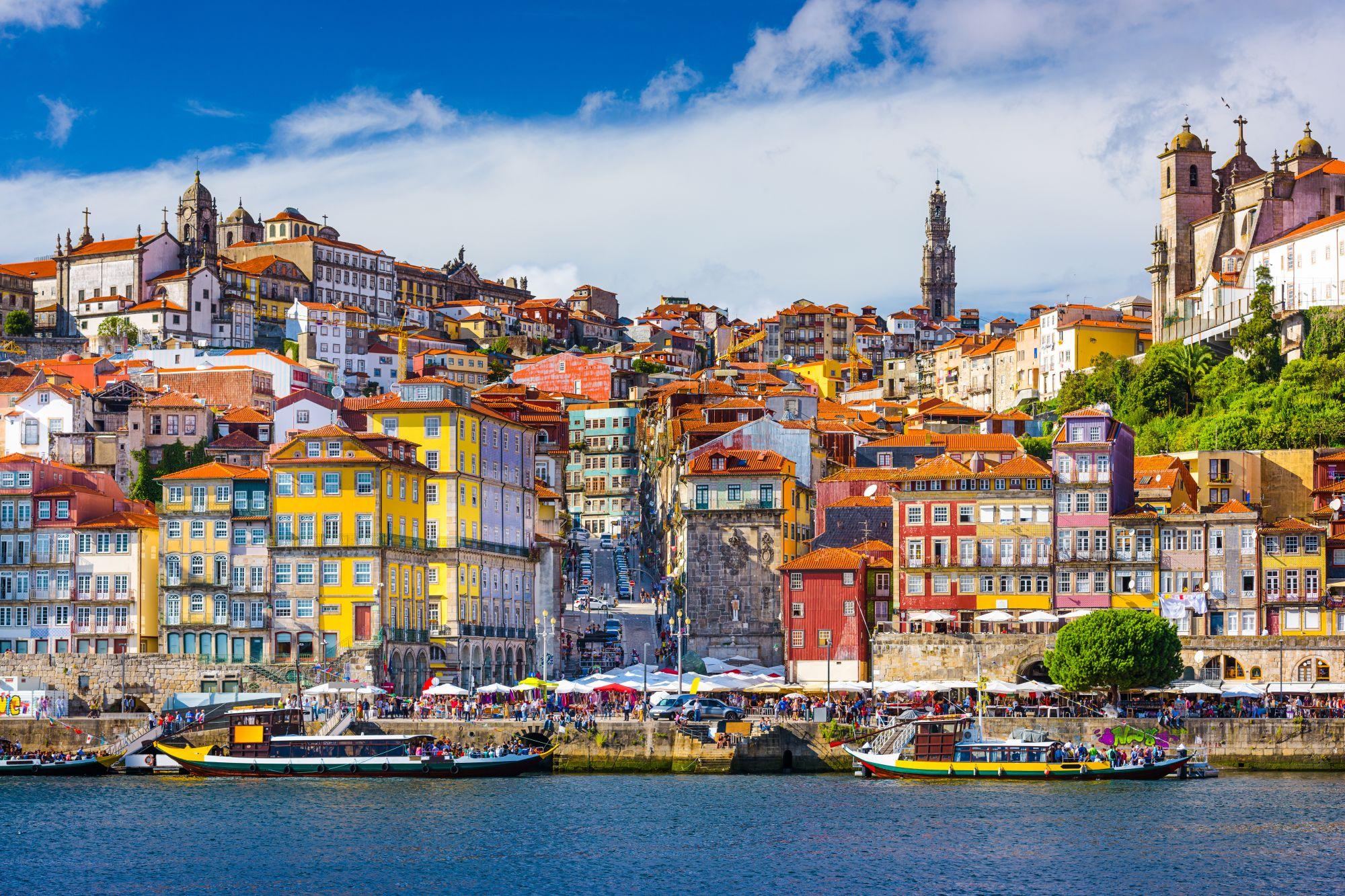 Ribeira w Porto