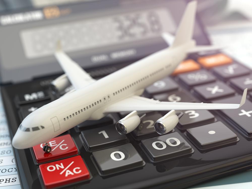 samolot kalkulator