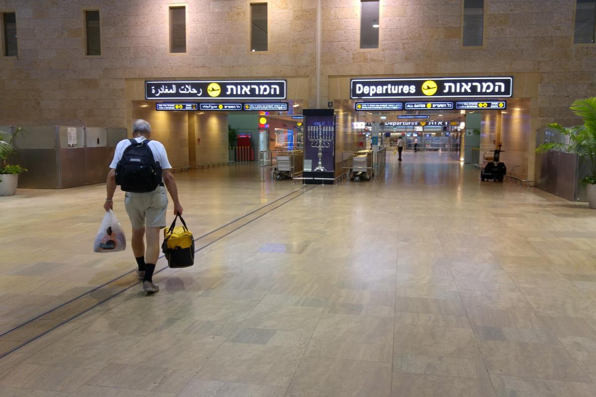izrael lotnisko