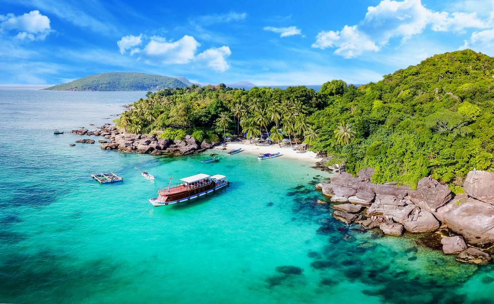 Plaża w Wietnamie