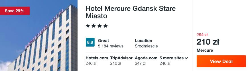 zarezerwuj hotel w trojmiescie