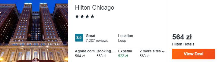 Hotel w Chicago