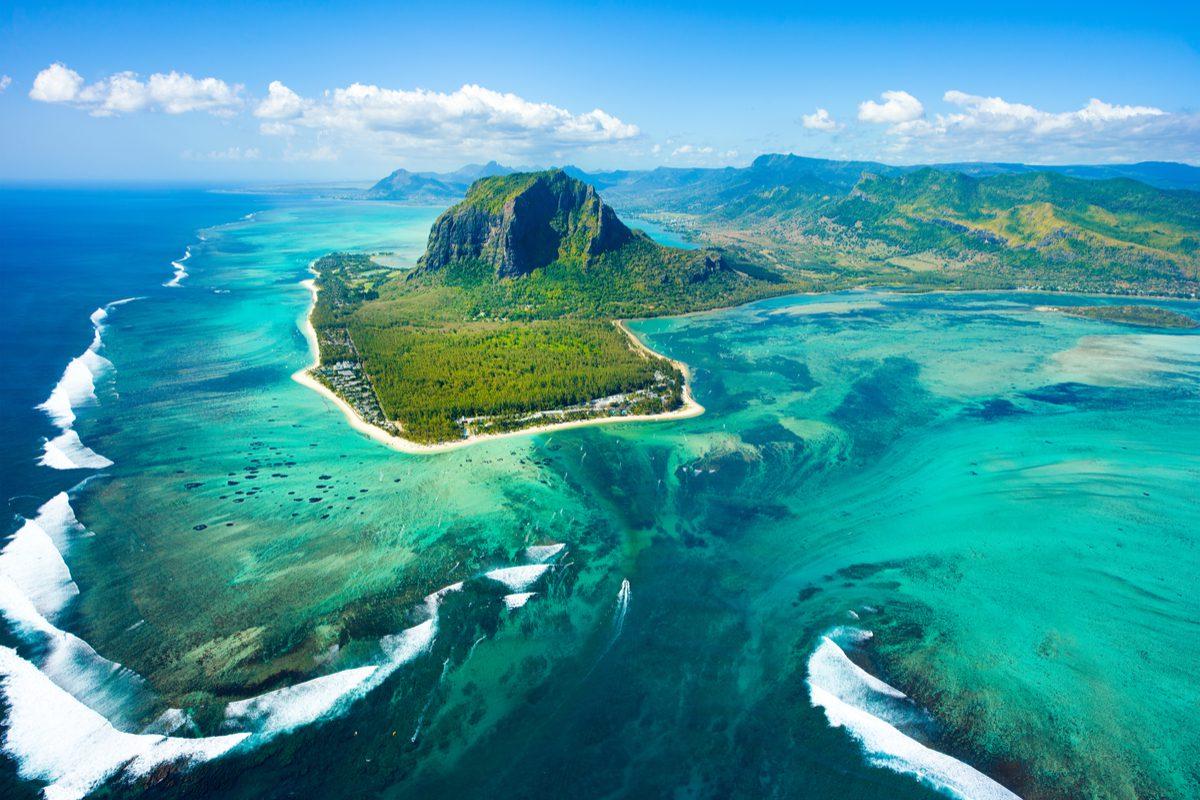 mauritius wybrzeze
