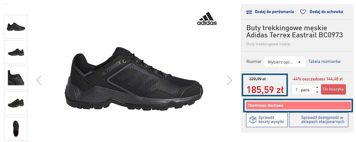 Markowe buty trekkingowe od 128 PLN. Ostatnie sztuki od