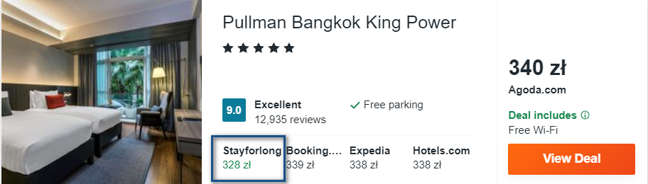 bangkok noclegi