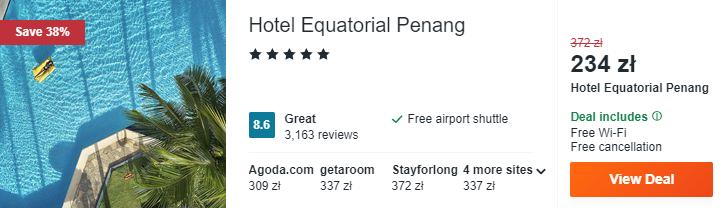 Hotel na Penang