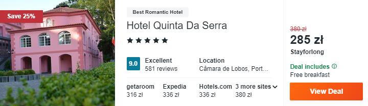 Hotel w Portugalii