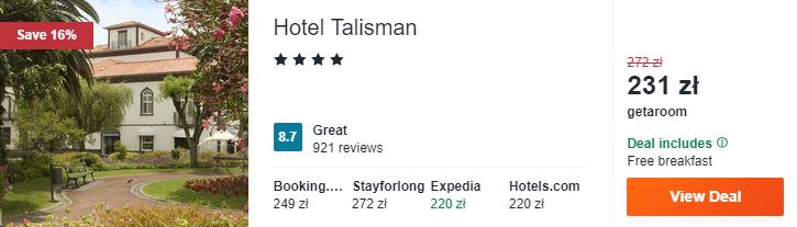 Hotel na Azorach