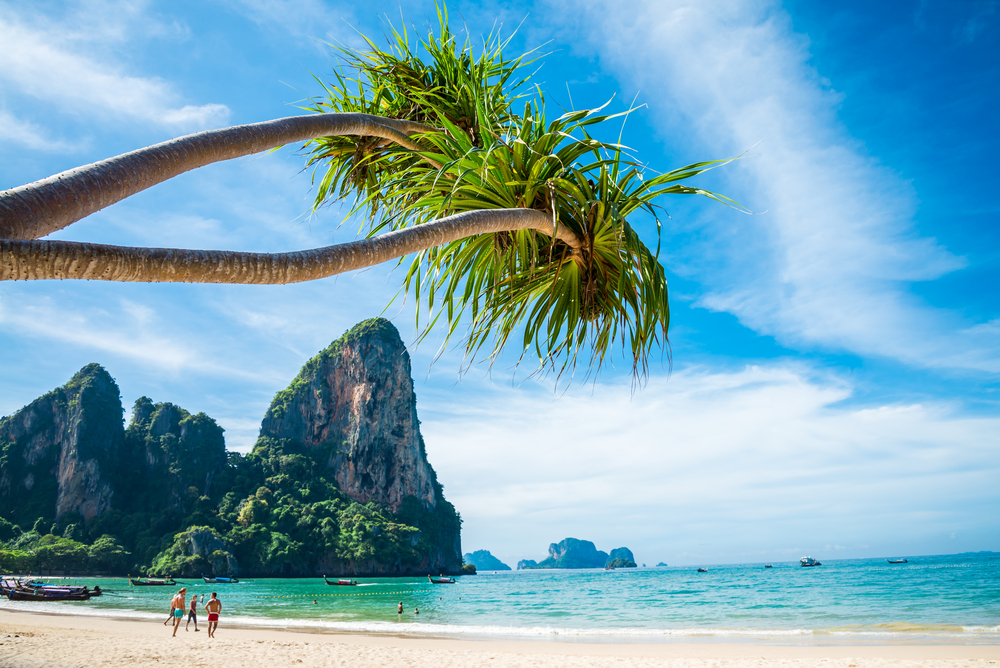 Plaża na Krabi