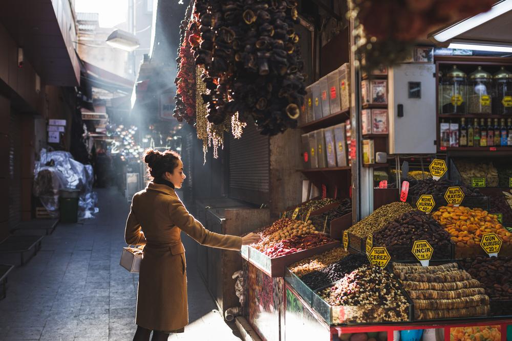 Bazar w Stambule