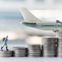 Pieniądze i samolot